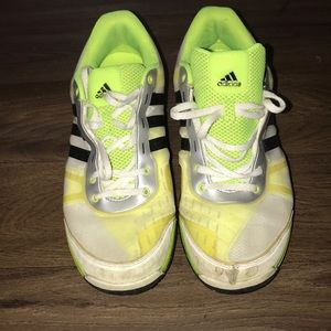 Neon Mesh Adidas Trainers / Workout Shoes